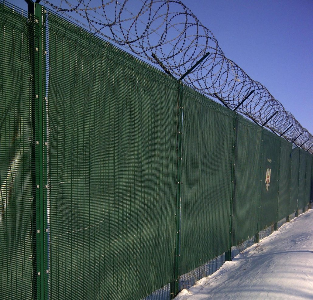 High Security Fencing The Fencing People