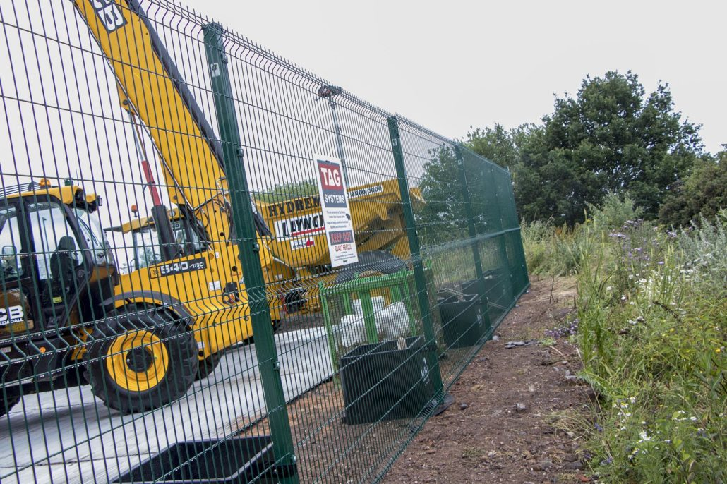 Temporary Fencing The Fencing People Donegal Ni
